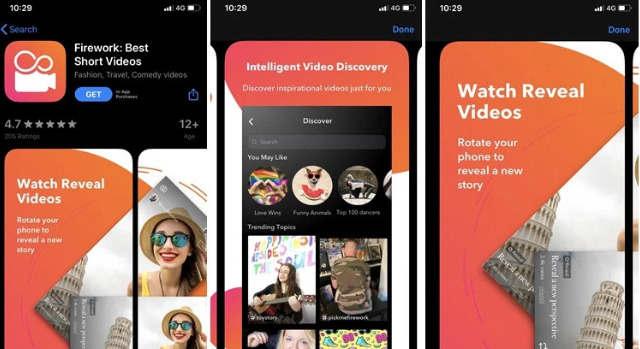 Google推出社交视频应用Firework来挑战TikTok